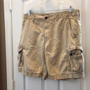 Men's Arizona jean cargo shorts 36